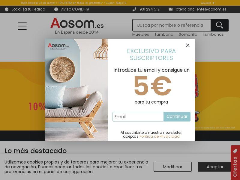 Aosom - ES (ES), [CPS]