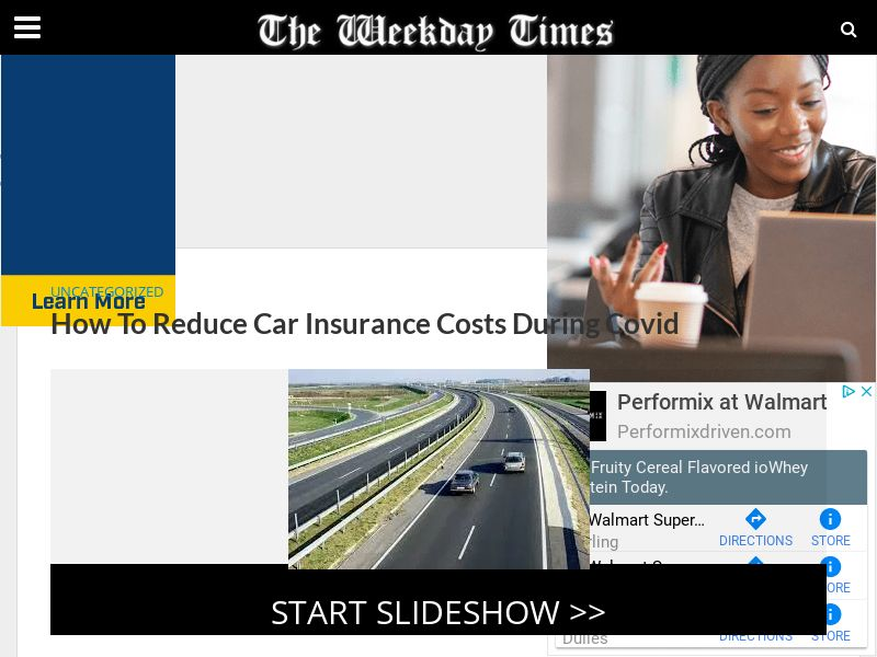 Reducing Car Insurance Costs During COVID Slideshow (US) (CPL) (Incent)