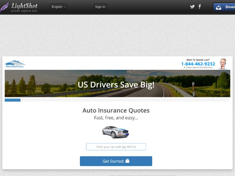 First Quote Auto (US) (CPL) (Personal Approva)