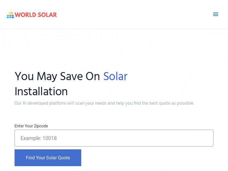 WorldSolar.Co US *EXCLUSIVE* (Rev Share)