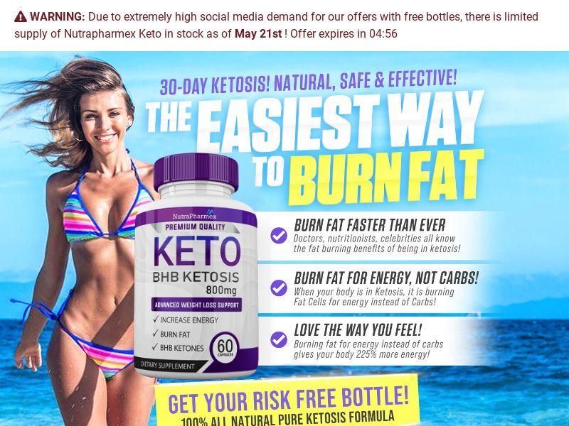 Keto NutriSlim Trial w/ Upsell - US (No SEO)