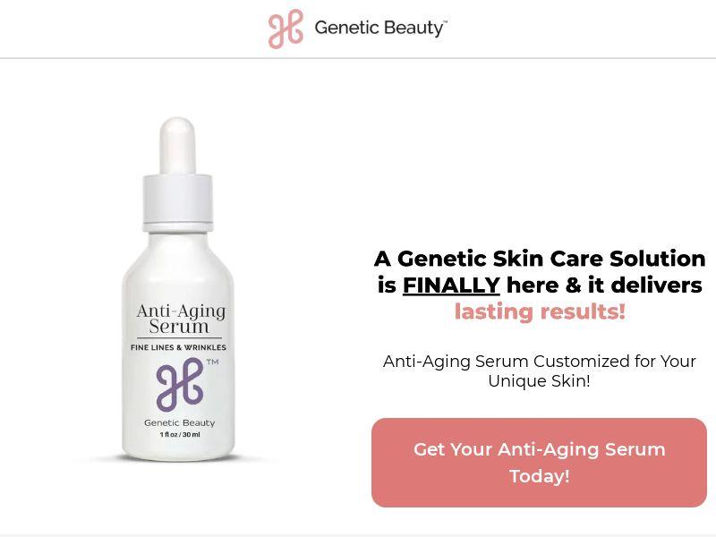 Anti-Aging Serum - 40% Revshare - Desktop & Mobile [US] - Nutra