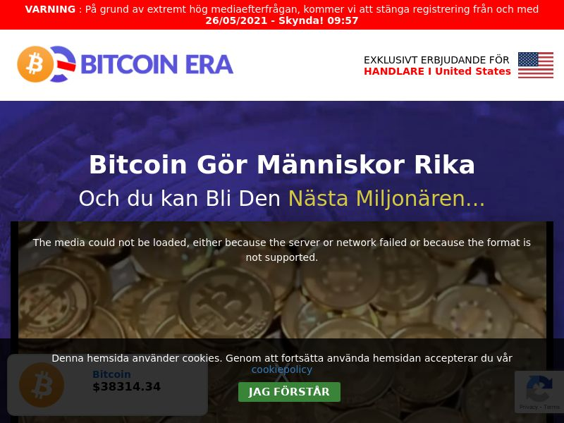 Bitcoin Era - SE (SE), [CPA]