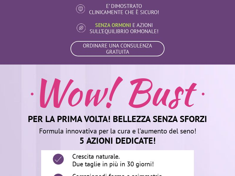 Wow Bust IT - breast enhancement cream