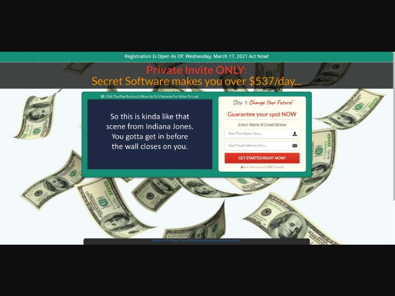 Mobile Site Sniper - $47 CTC - VSL - Biz Opp - SS - [AU,CA,NZ,US] - with 1-Click Upsell [Step1 $80.75 / Upsell $12.75]
