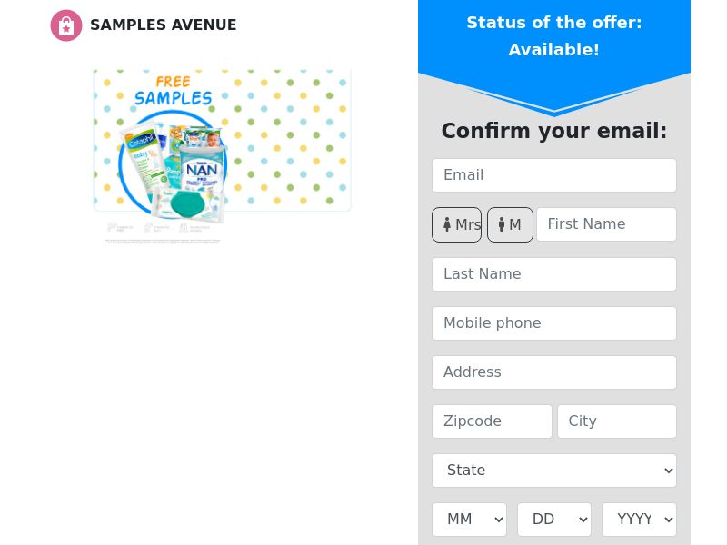 Samples Avenue - Baby Samples - CPL - US [EXCLUSIVE]