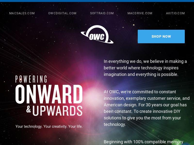 Mac Sales | Other World Computing US