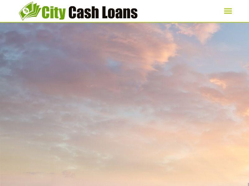 City Cash Personal Loan