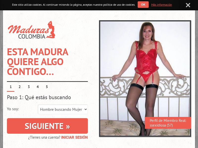 Maduras Colombia - Adult Dating - Web & WAP - PPS - Colombia