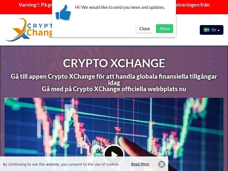 Crypto XChange Swedish 3334