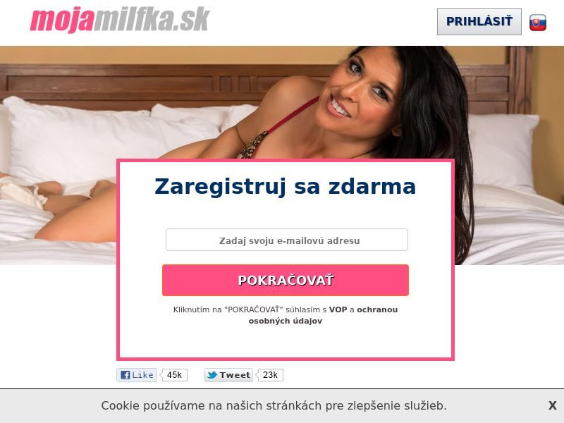 mojamilfka - SK (SK), [CPL], For Adult, Dating, Content +18, Double Opt-In, Email Submit, women, date, sex, sexy, tinder, flirt