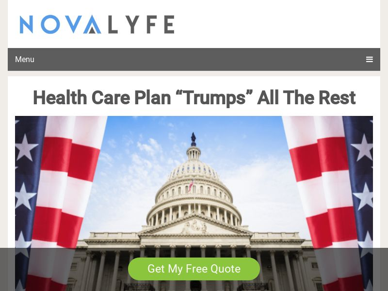 TrumpCare Insurance Health Quotes [US]|PPL|Responsive