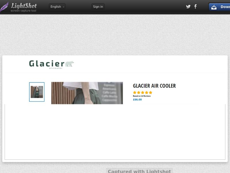 Glacier Aircooler (INTL) (CPS) (Personal Approval)