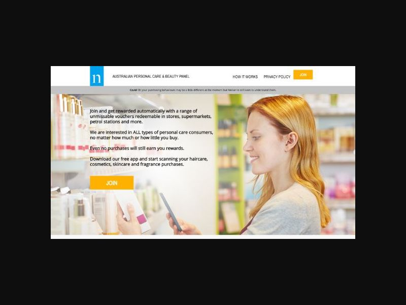 NielsenIQ Personal Care & Beauty Panel - AU