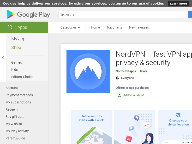 NordVPN - Android - AU (CPA - Free Trial subscription)