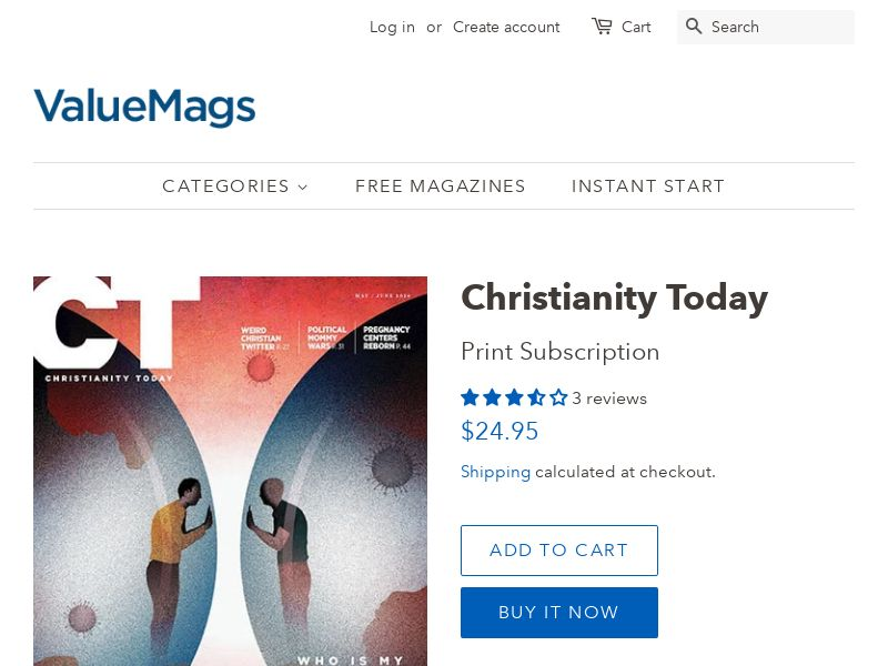 Christianity Today - Magazine Subscription | US