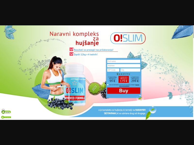 O!Slim - Diet & Weight Loss - SS - [SI]