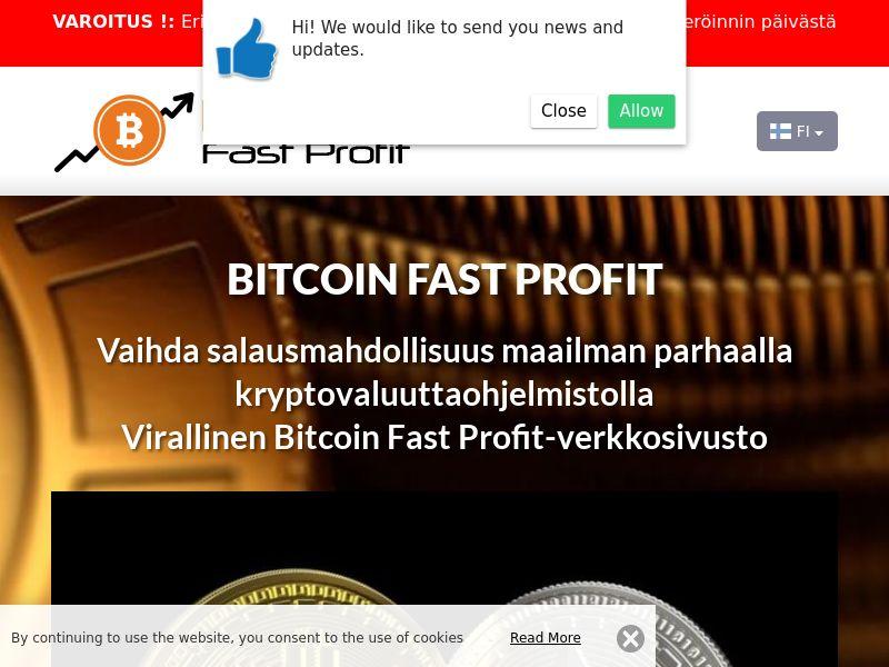 Bitcoin Fast Profits Finnish 3925