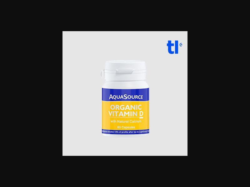 Organic Vitamin D - health - CPA - COD - Nutra