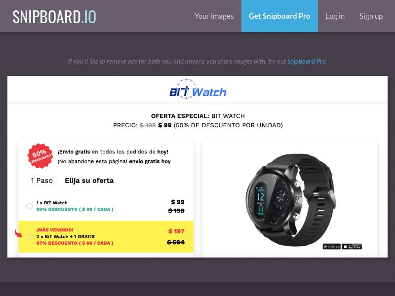 40101 - ALL - E-Commerce - BiT Watch INT - WW - CPS