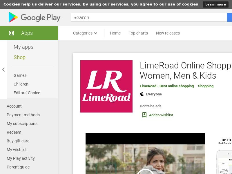Lime Road Android IN