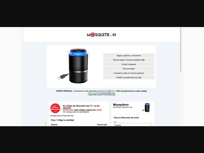 Mosquitron - CPS - Tier1 - eCommerce - Responsive