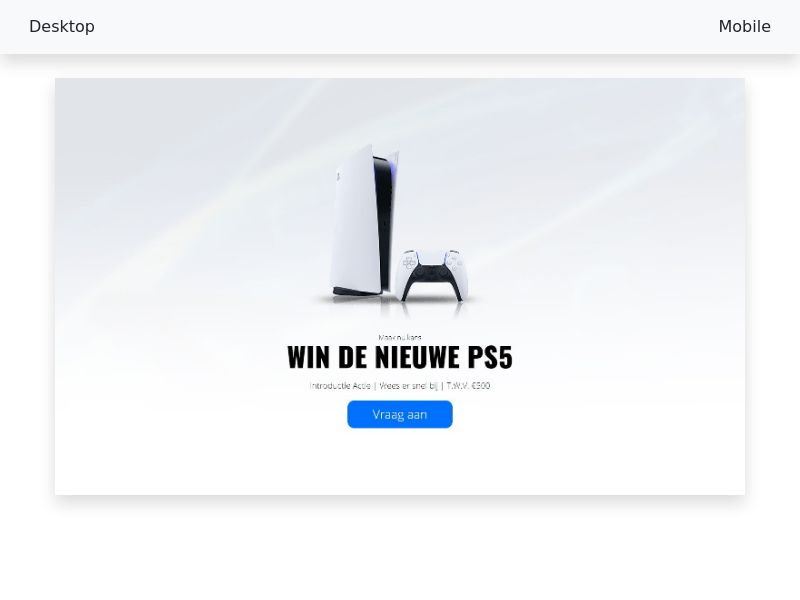 PlayStation 5 - CPL/SOI - [NL]