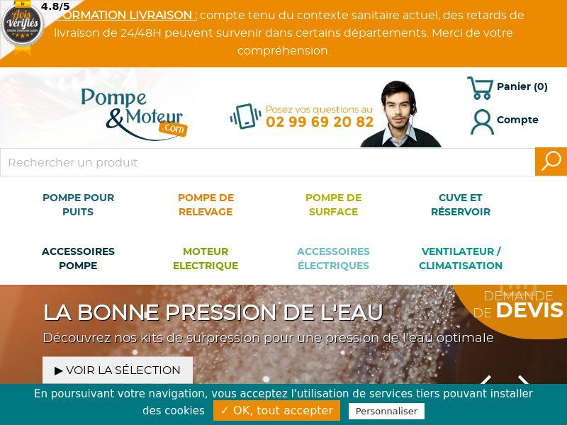 Pompe & Moteur - FR (FR), [CPS], House and Garden, Garden, Building, Sell, shop, gift
