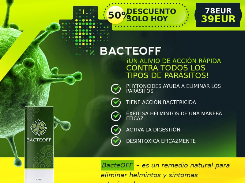 BacteOFF ES - anti-parasite product