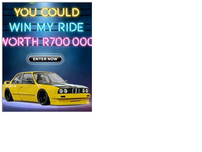 Win My Ride MTN