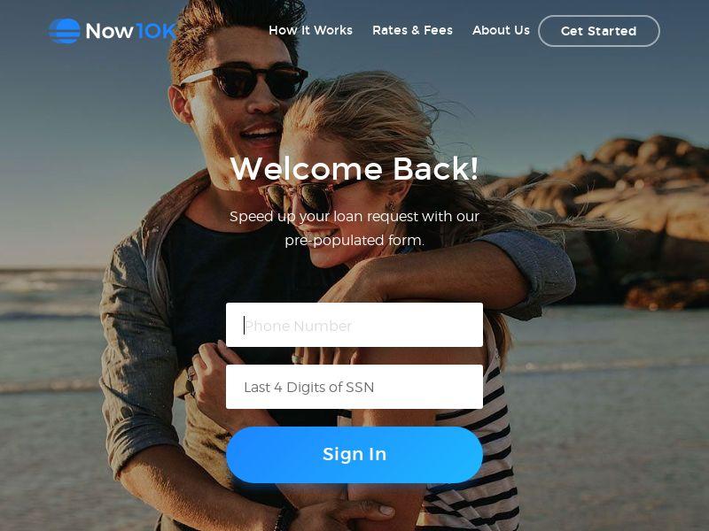 Now10K - Loan Service - US