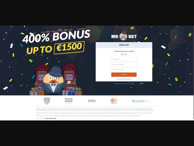 Mr Bet - Casino - SS - [DE]