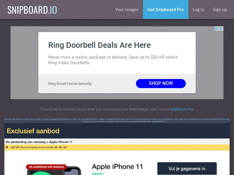 CoreSweeps - iPhone 11 Amazon CZ - CC Submit