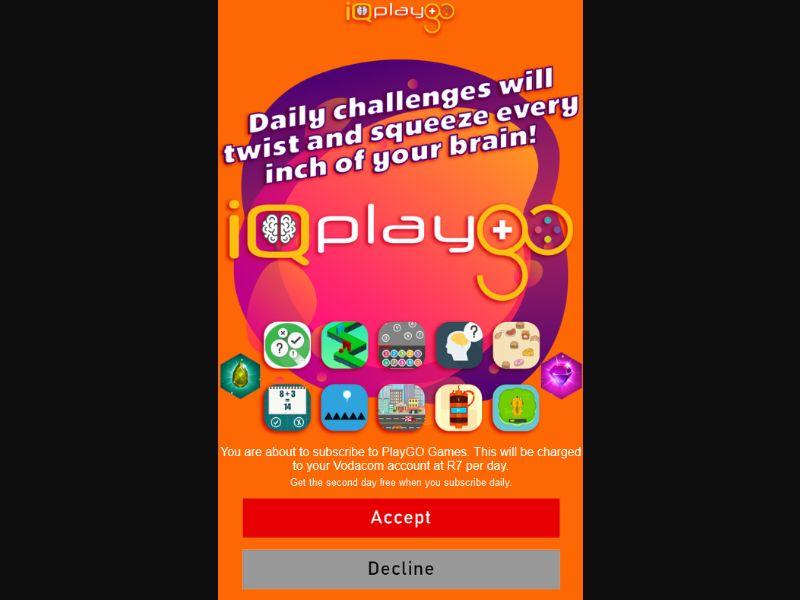 ZA - IQ PlayGO - Vodacom