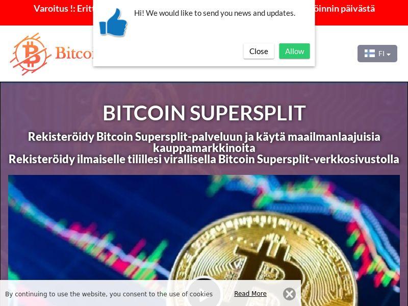 Bitcoin Supersplit Finnish 3609