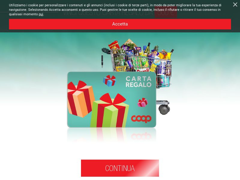 Coop Gift Card [IT] (Email,Native,Social,Banner,Push) - CPL