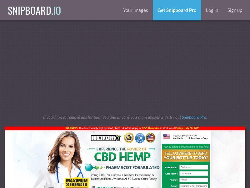 42581 - US - BioWellness CBD Gummies - SS