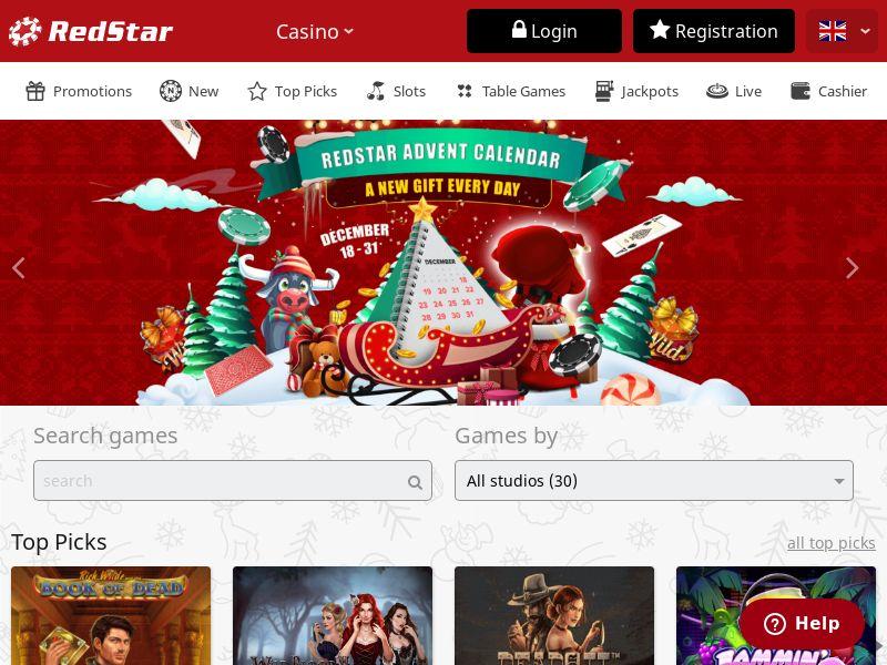 RedStar Casino | Minimum FTD (no baseline) | Global