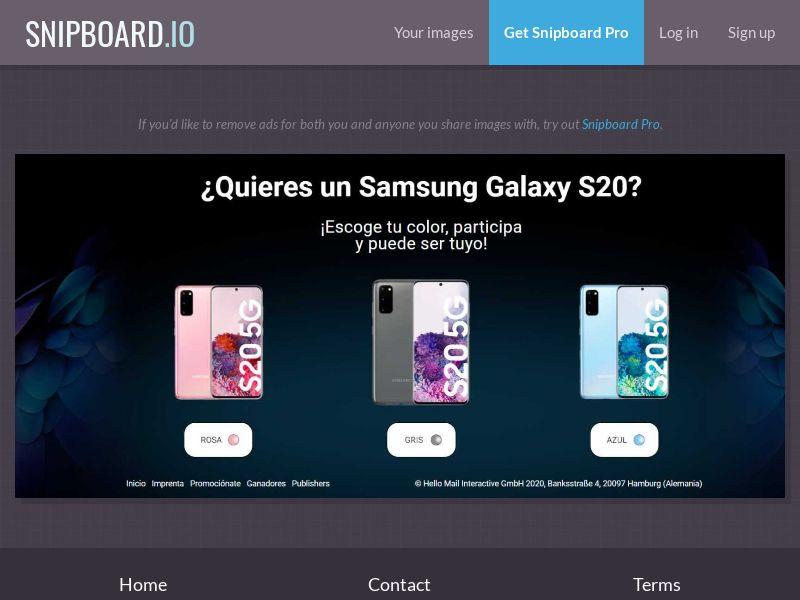 38910 - ES - PremiosFaciles - Samsung S20 - SOI