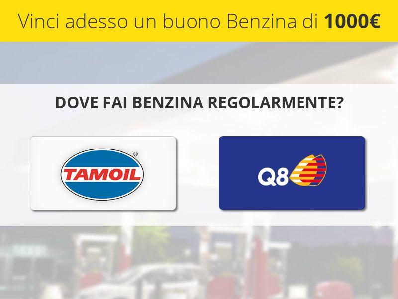 Tamoil vs. Q8 1000€ giftcard - IT - CPL SOI