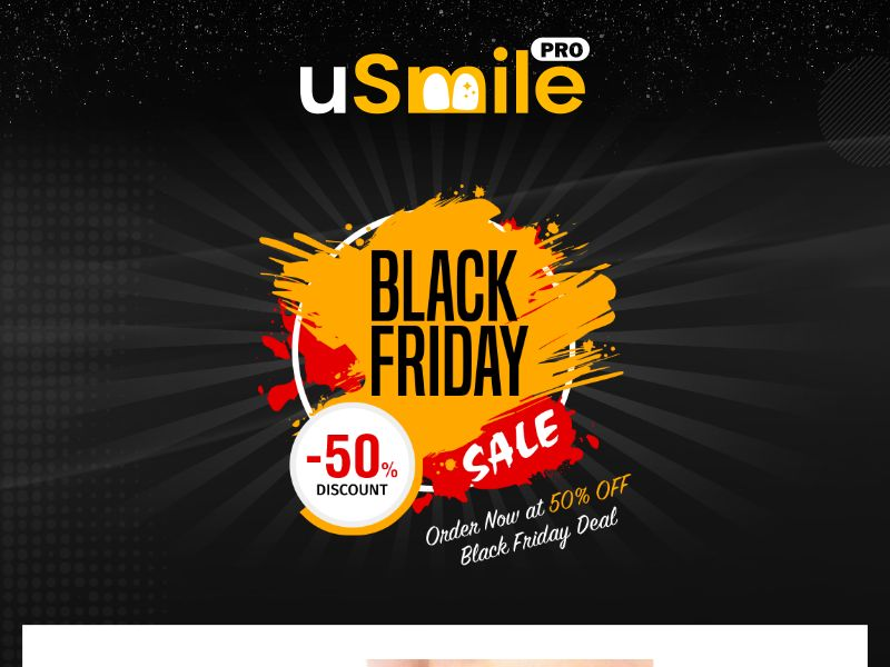 UsmilePro - Advanced toothbrush - Black Friday LP Available - CPA - [INTERNATIONAL]