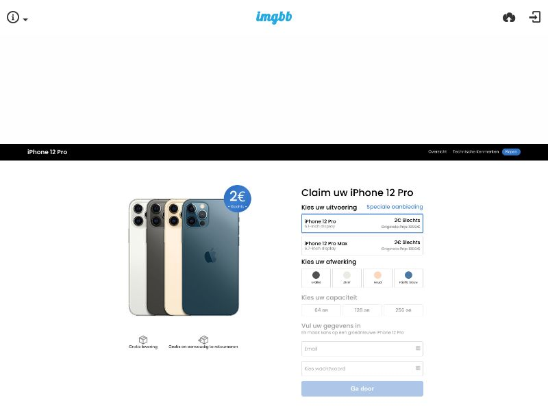 Win an iPhone 12 Color Choose White (DE) (Trial) (Personal Approval)