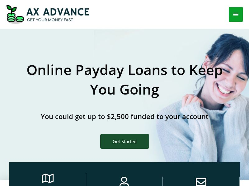 AXADVANCE.COM - Easy Loans (*AXAD EXCLUSIVE* Rev Share - US Only)