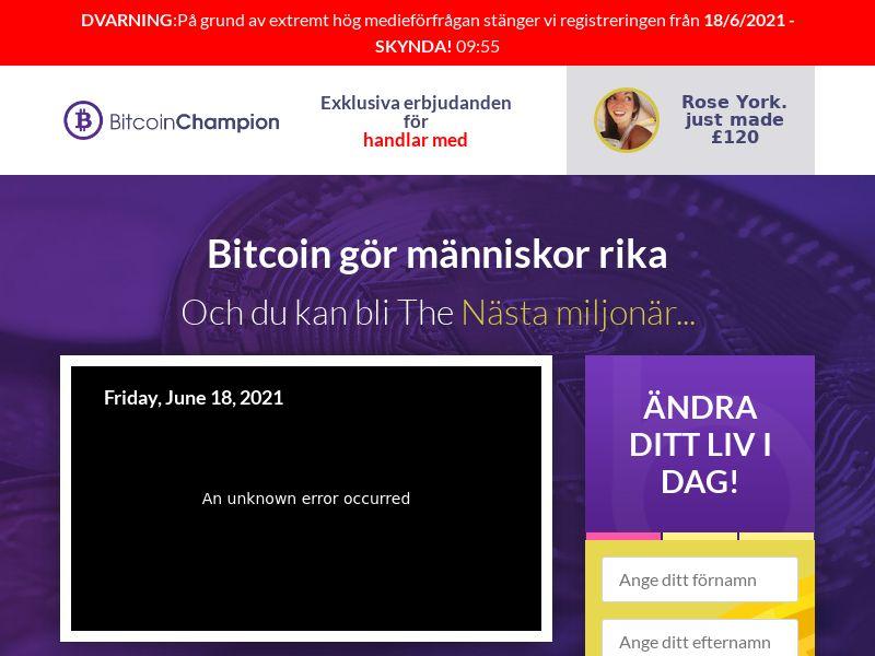 Bitcoin Champion - SE (SE), [CPA]