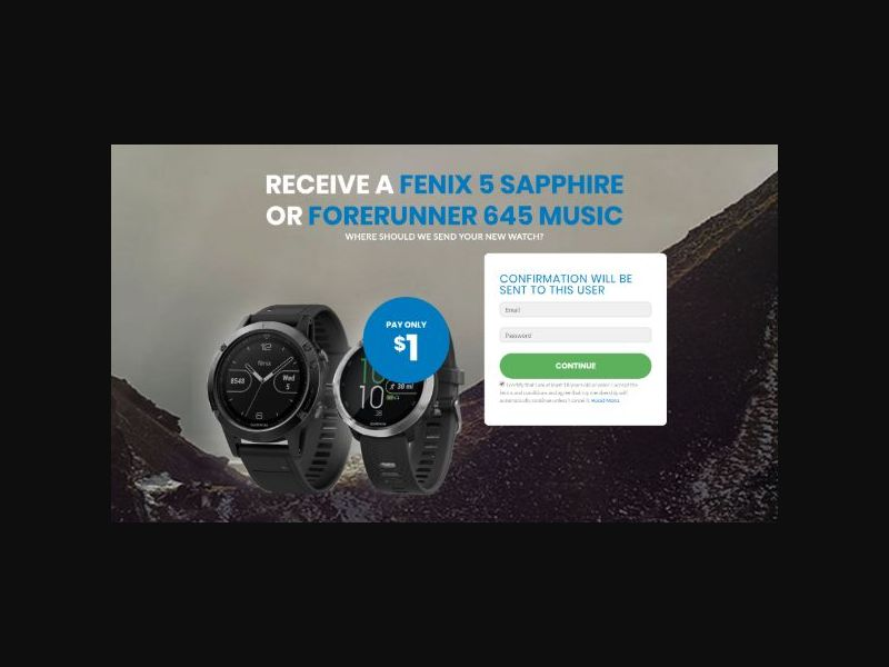 Win a Fitness Tracking Watch - INTL