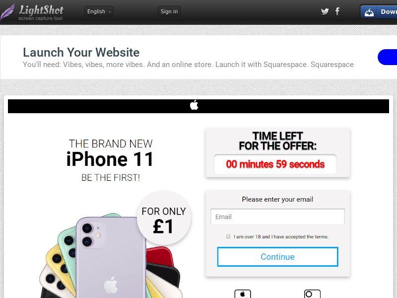 GetRealDeal iPhone 11 White Fan (Sweepstake) (CC Trial) - United Kingdom [UK]