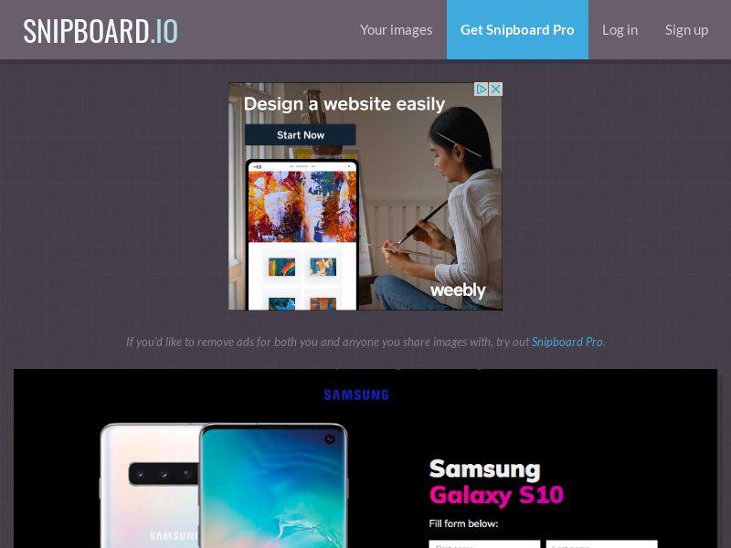 BigEntry - Samsung Galaxy S10 v1 NZ - CC Submit