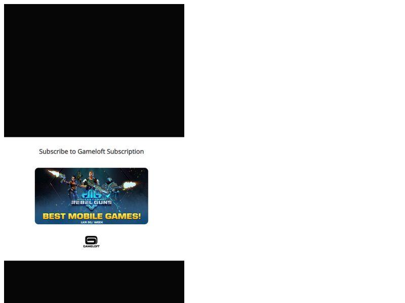 LDO Gameloft Dialog