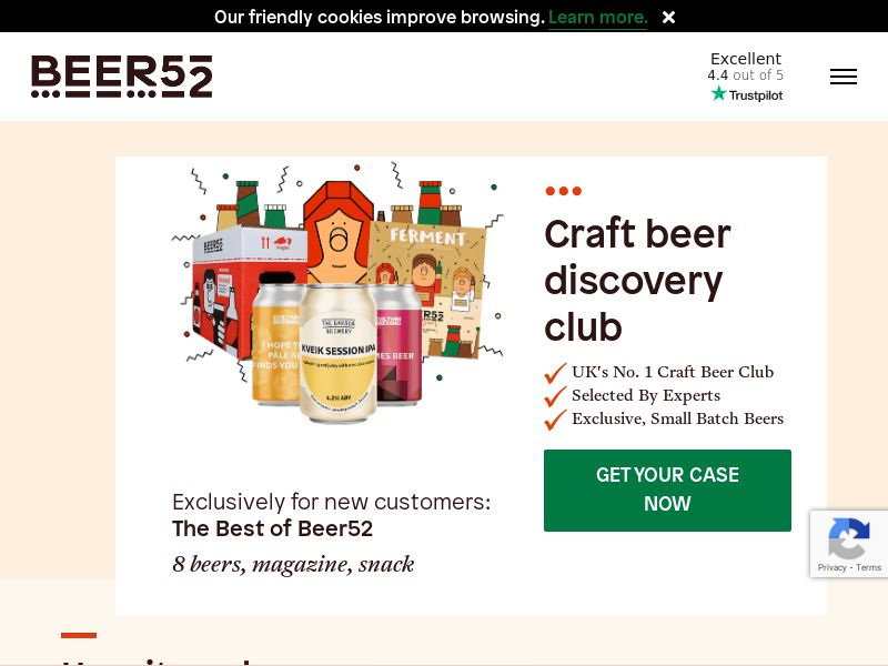 Beer52 - £10 Off Your First Crate [UK]