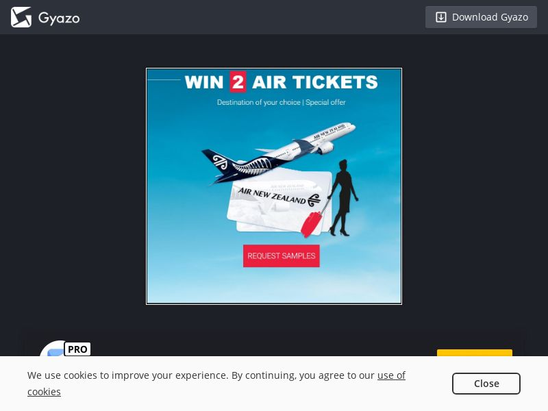 Win Air Tickets (NZ) (CPL)